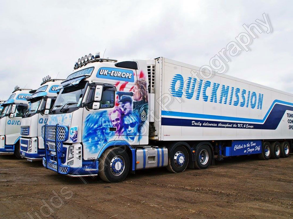 Quickmission refrigerated haulage
